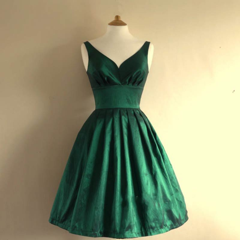 d5b08515b2 Custom Olive Green A-Line Prom Dress