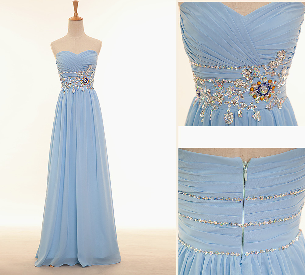 Fashion Simple Beaded Evening Dresses, Prom Party Formal Dress ...